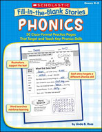 Fill-in-the-Blank Stories: Phonics (Enhanced eBook)