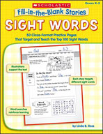 Fill-in-the-Blank Stories: Sight Words