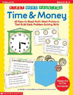 First Word Problems: Time and Money (Enhanced eBook)