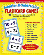 Flashcard Games: Addition and Subtraction (Enhanced eBook)