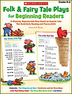 Folk and Fairy Tale Plays for Beginning Readers (Enhanced eBook)