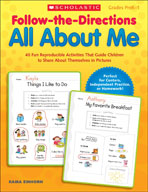 Follow-the-Directions: All About Me (Enhanced eBook)