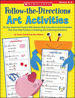 Follow-the-Directions Art Activities (Enhanced eBook)