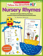 Follow-the-Directions Art: Nursery Rhymes (Enhanced eBook)