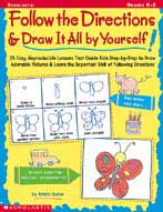 Follow the Directions & Draw It All by Yourself! (Enhanced eBook)