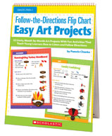 Follow-the-Directions Flip Chart: Easy Art Projects (Enhan
