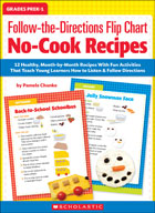 Follow-the-Directions Flip Chart: No-Cook Recipes
