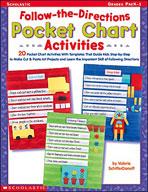 Follow-the-Directions Pocket Chart Activities (Enhanced eBook)