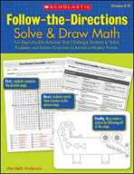 Follow-the-Directions: Solve and Draw Math (Grades 6-8) (Enhanced eBook)