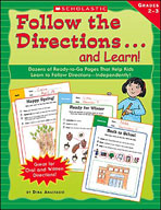 Follow the Directions . . . and Learn! Grades: 2-3