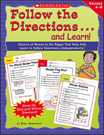 Follow the Directions . . . and Learn: Grades: 4-6 (Enhanc