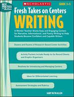 Fresh Takes on Centers: Writing (Enhanced eBook)