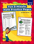 Fun 5-Minute Math Practice Pages (Enhanced eBook)