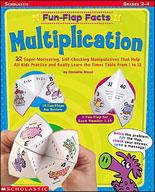 Fun-Flap Facts: Multiplication (Enhanced eBook)
