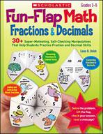 Fun-Flap Math: Fractions and Decimals