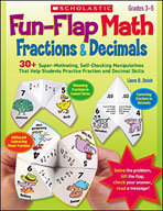 Fun-Flap Math: Fractions and Decimals