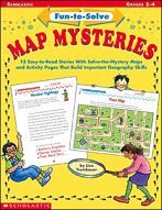 Fun-to-Solve Map Mysteries (Enhanced eBook)