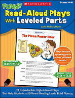 Funny Read-Aloud Plays With Leveled Parts (Enhanced eBook)