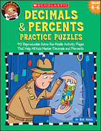 FunnyBone Books: Decimals & Percents Practice Puzzles (Enhanced eBook)