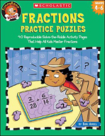 FunnyBone Books: Fractions Practice Puzzles