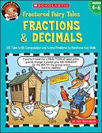 FunnyBone Books: Fractured Fairy Tales: Fractions & Decimals (Enhanced eBook)