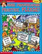 FunnyBone Books: More Proofreading Practice, Please (Grade 3)