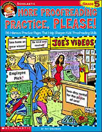 FunnyBone Books: More Proofreading Practice, Please (Grade 5)