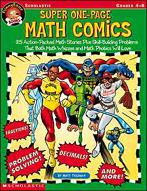 FunnyBone Books: Super One-Page Math Comics (Enhanced eBook)