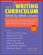 Grade 2 Writing Curriculum: Week-By-Week Lessons (Enhanced eBook)