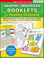 Graphic Organizer Booklets for Reading Response (Grades 4-6) (Enhanced eBook)