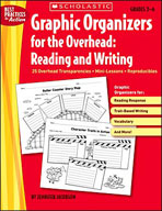 Graphic Organizers for the Overhead: Reading and Writing (Enhanced eBook)