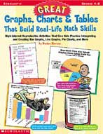 Great Graphs, Charts, and Tables That Build Real-life Math Skills