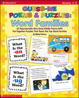 Guess-Me Poems & Puzzles: Word Families (Enhanced eBook)