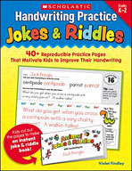Handwriting Practice: Jokes and Riddles (Enhanced eBook)