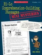 Hi-Lo Comprehension-Building Passages: Mini-Mysteries