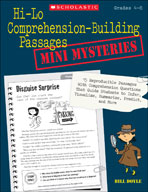 Hi-Lo Comprehension-Building Passages: Mini-Mysteries (Enhanced eBook)