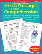 Hi-Lo Passages to Build Comprehension: Grades 3-4