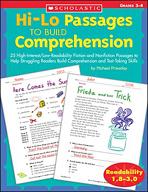 Hi-Lo Passages to Build Comprehension: Grades 3-4 (Enhanced eBook)