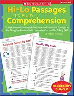 Hi-Lo Passages to Build Comprehension: Grades 5-6 (Enhanced eBook)
