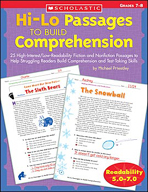 Hi-Lo Passages to Build Comprehension: Grades 7-8