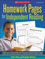 Homework Pages for Independent Reading (Enhanced eBook)