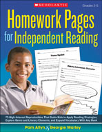 Homework Pages for Independent Reading (Enhanced eBook)
