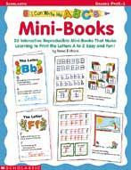 I Can Write My ABC's!  Mini-books