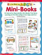 I Can Write My ABC's!  Mini-books (Enhanced eBook)