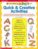 I Can Write My ABC's! Quick & Creative Activities