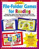 Instant File-Folder Games for Reading