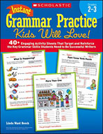 Instant Grammar Practice Kids Will Love: Grades 2-3 (Enhanced eBook)