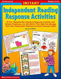 Instant Independent Reading Response Activities (Enhanced eBook)