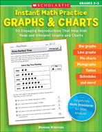 Instant Math Practice: Graphs and Charts (Grades 2-3)