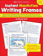 Instant Nonfiction Writing Frames (Enhanced eBook)